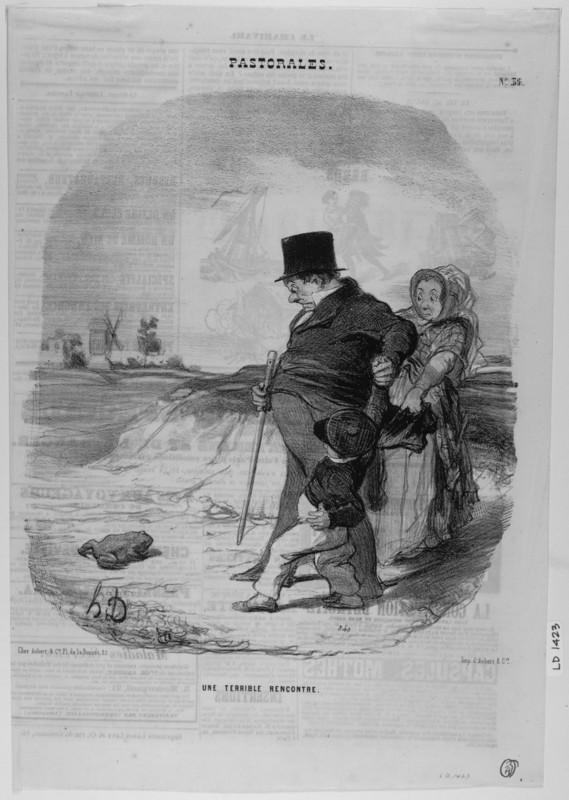 Honoré Daumier'in Politik Taşbaskıları | E-Dergi, Sanat Tarihi
